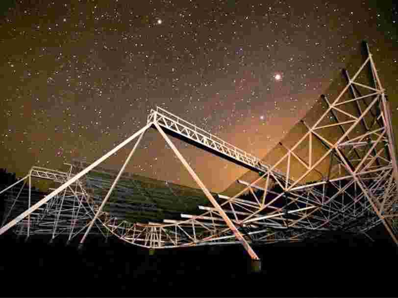 Un radiotélescope détecte de mystérieux sursauts radio rapides venus de l'espace