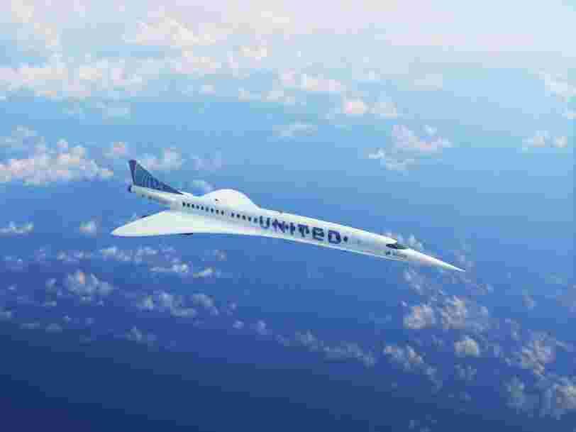 Ce que l'on sait d'Overture, l'avion supersonique qui veut succéder au Concorde