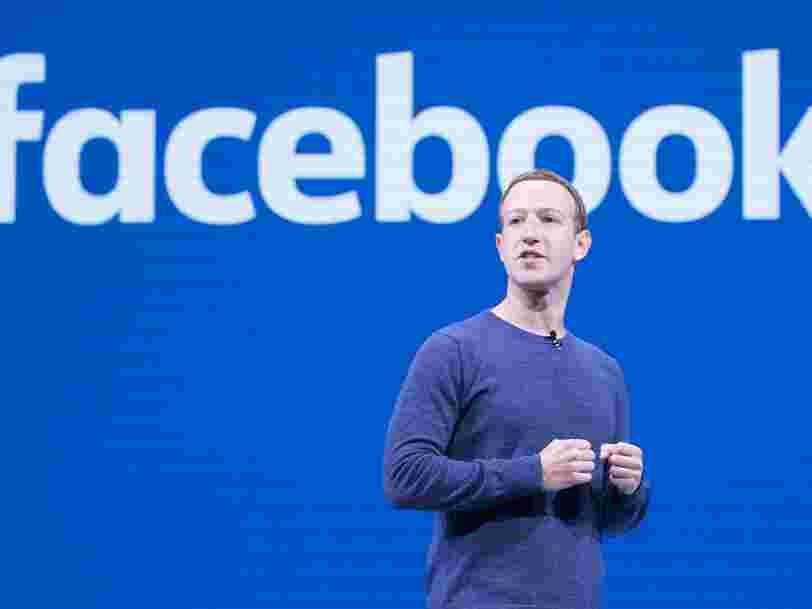 Mark Zuckerberg explique pourquoi il adore le télétravail
