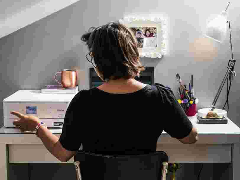 La moitié des salariés souhaitent rester en télétravail pendant au moins un ou deux jours par semaine