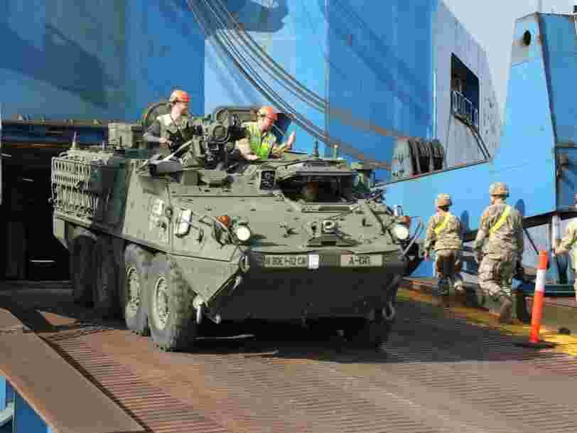 L'armée américaine et l'OTAN développent leurs capacités logistiques de projection en Europe