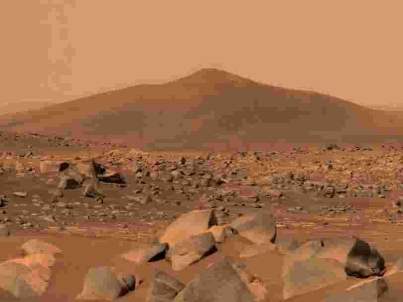 Les humains pourraient se reproduire sur Mars, selon une étude