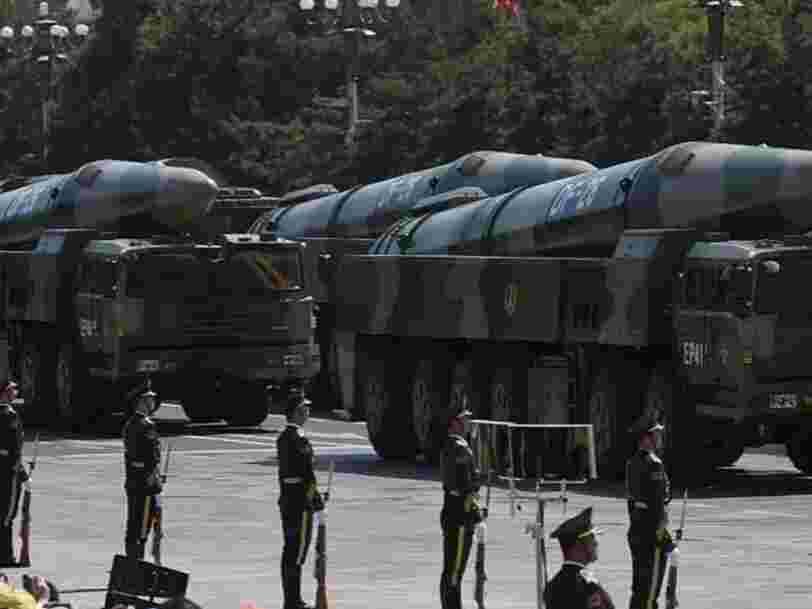 La Chine s'est entraînée à tirer de nuit des missiles 'tueurs de porte-avions'