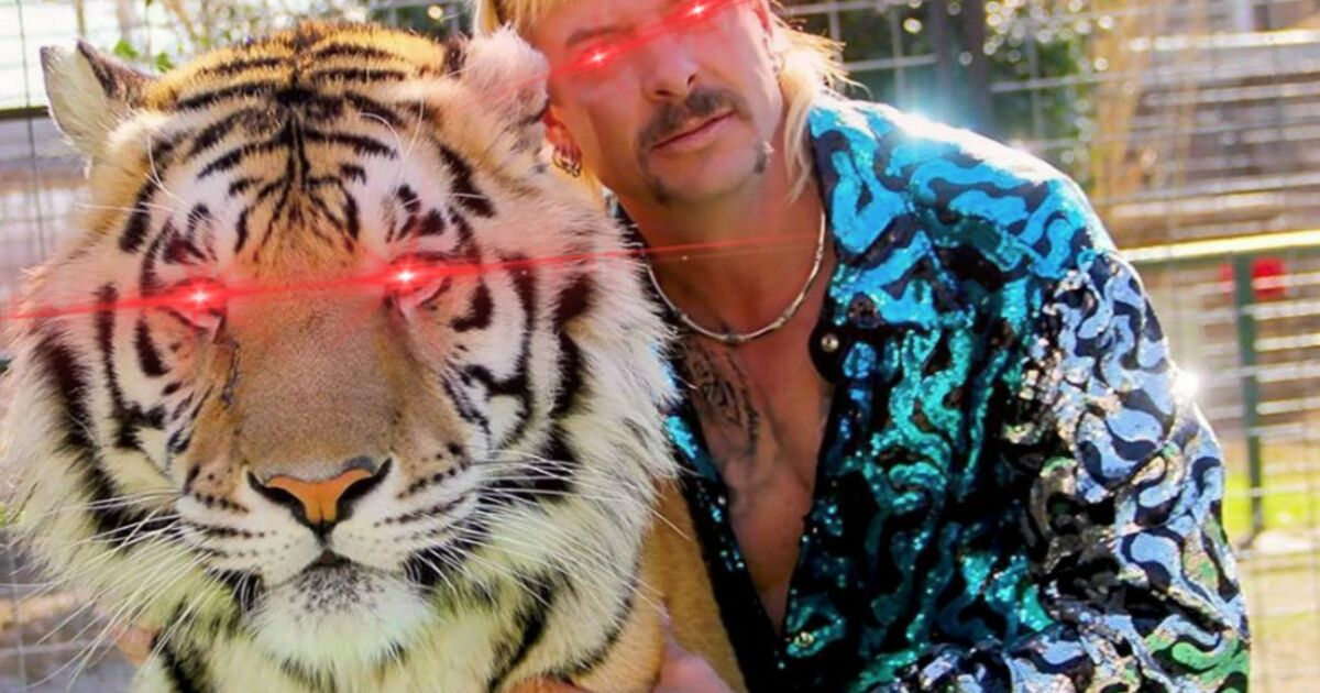 Joe Exotic de 'Tiger King' vend sa première collection NFT depuis sa cellule de prison