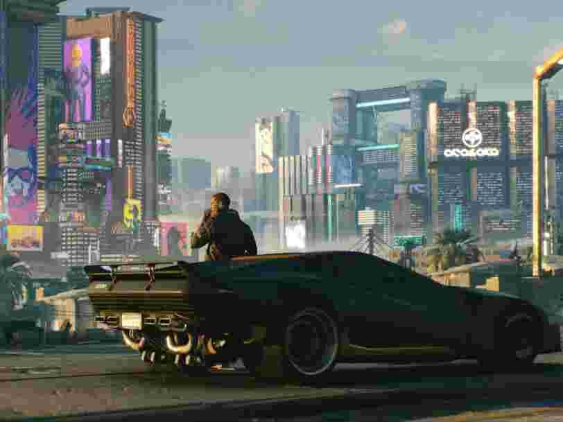 Le jeu Cyberpunk 2077 est de retour sur le PlayStation Store après d'importants bugs à son lancement