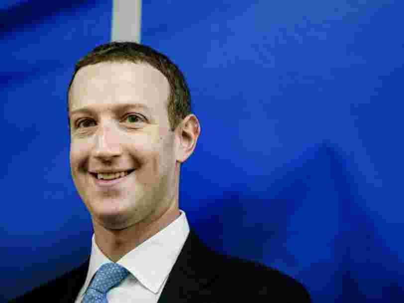 Mark Zuckerberg ne fait plus partie du classement des '100 meilleurs patrons', une première depuis 2013