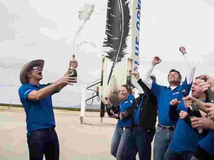 Voici à quoi va ressembler le vol de Jeff Bezos dans l'espace avec Blue Origin