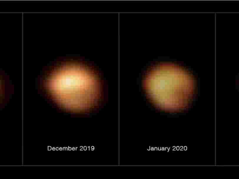 La mystérieuse perte de luminosité de l'étoile Bételgeuse a enfin été élucidée