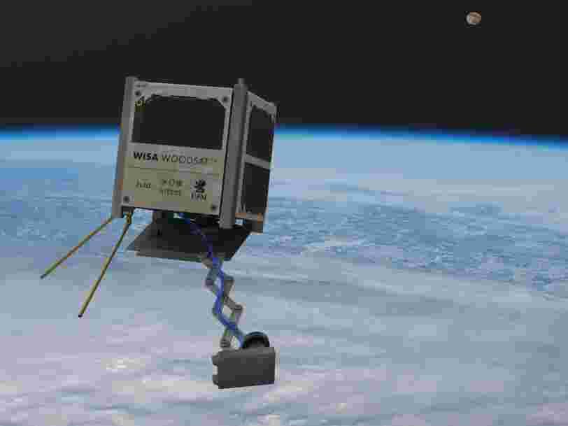 Le premier satellite en bois pourrait être lancé dans l'espace avant la fin de l'année