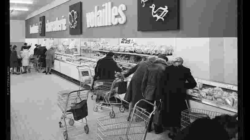Voici comment on faisait ses courses dans les années 1960 en France