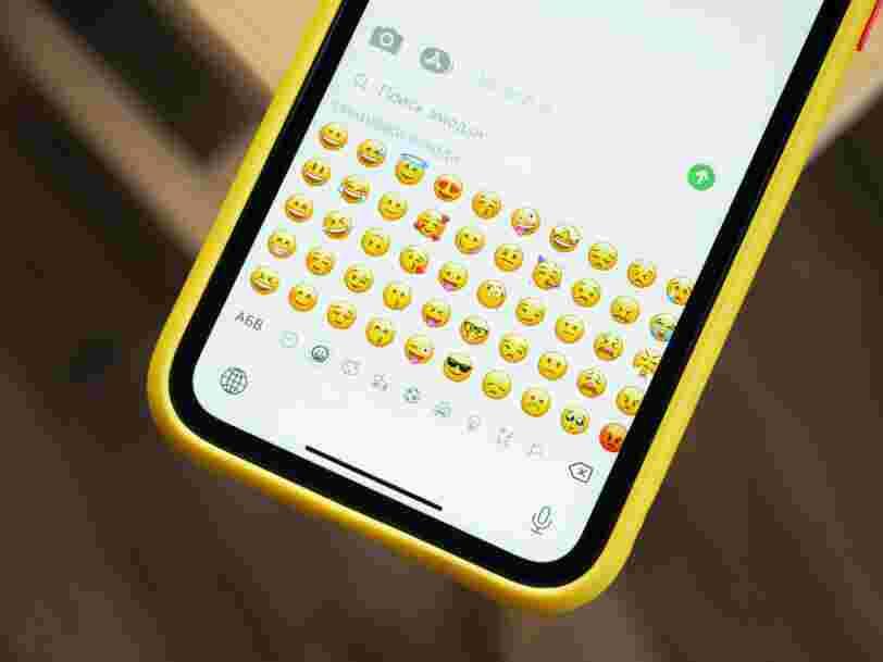 Voici comment le nombre d'emojis augmente depuis 1995