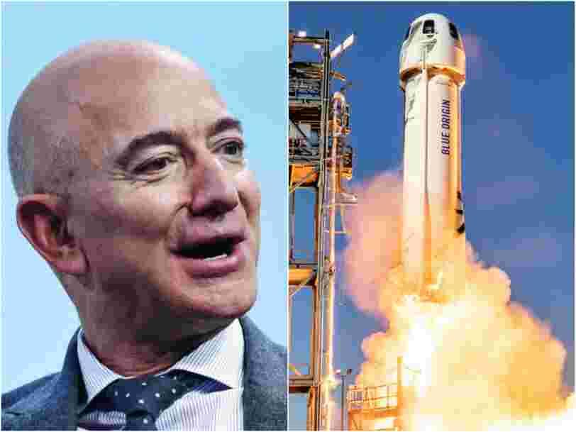 Une drôle de pétition pour empêcher Jeff Bezos de revenir sur Terre après son voyage dans l'espace