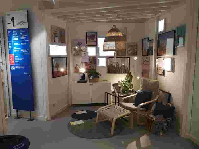 Chez Ikea, vous pouvez maintenant réserver en ligne des meubles d'occasion