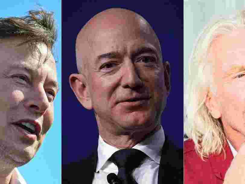 La NASA 'garde un œil' sur Jeff Bezos et les autres milliardaires qui font la course à l'espace
