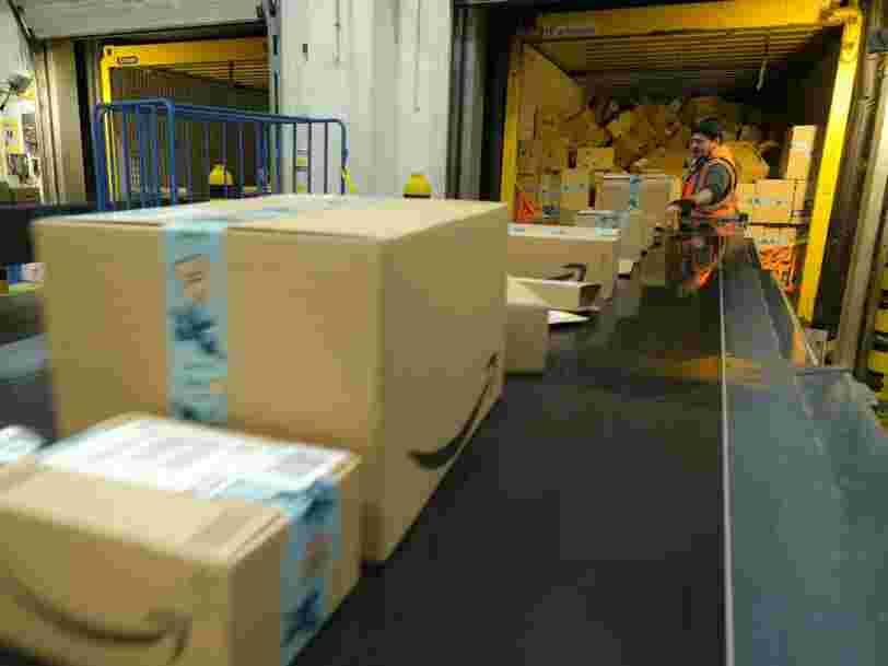 Un entrepôt Amazon détruirait 130 000 articles par semaine