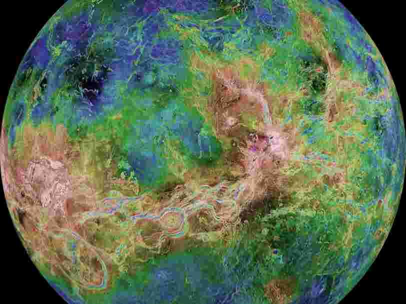 Sur Vénus, des scientifiques ont détecté ce qui pourrait ressembler à une activité tectonique