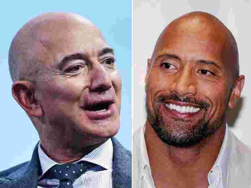 Jeff Bezos et The Rock préparent une 'grosse annonce' à venir cette semaine