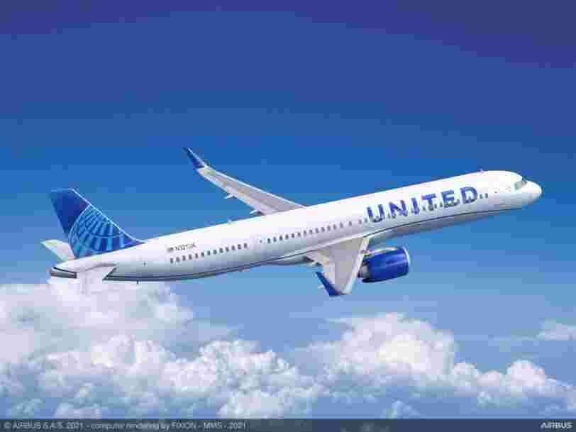United Airlines passe une commande géante à Airbus et Boeing