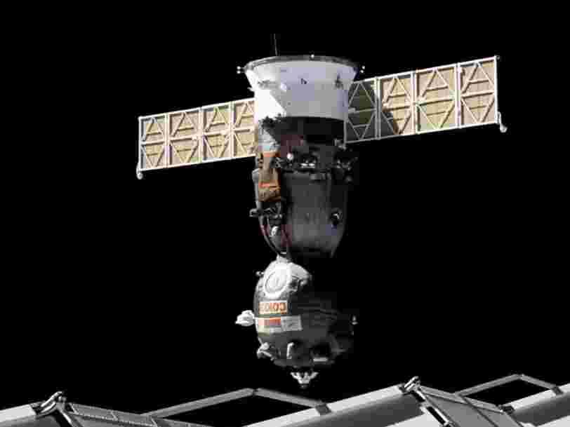 La Russie envoie du matériel vers l'ISS à bord d'un vaisseau Soyouz