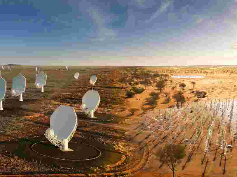 Feu vert pour la construction des deux plus gros radiotélescopes au monde