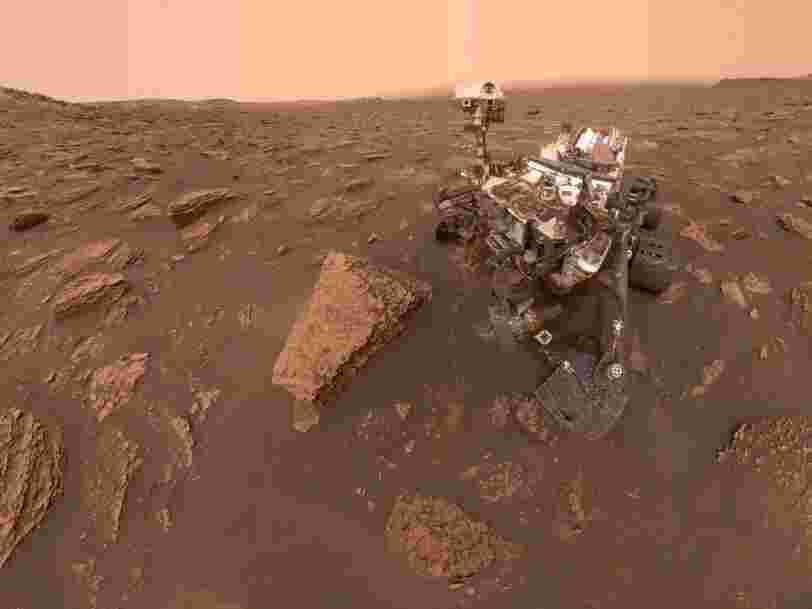 On en sait un peu plus sur la présence de méthane sur Mars