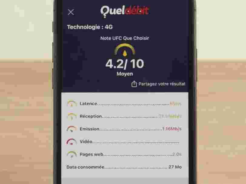 UFC-Que Choisir lance une application pour mesurer la qualité de votre réseau internet