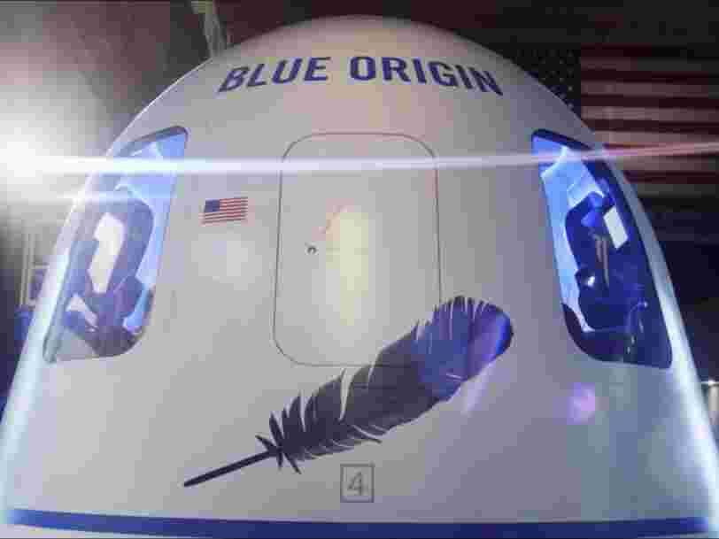 Une femme de 82 ans va embarquer avec Jeff Bezos pour son vol dans l'espace