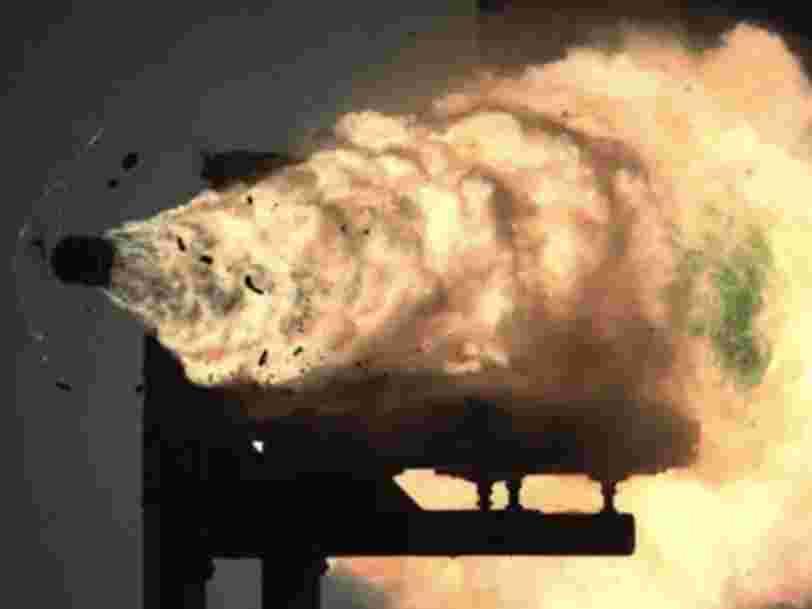 Pas de canon électromagnétique pour l'US Navy,  qui va privilégier les missiles hypersoniques