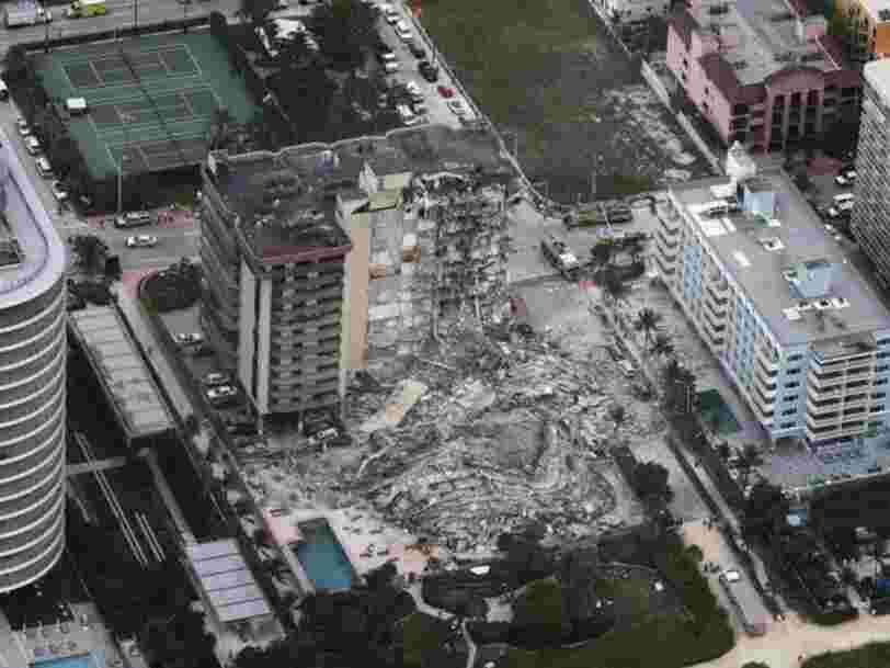 L'explosion déclenchée en mer n'a pas causé l'effondrement d'un immeuble en Floride, selon l'US Navy