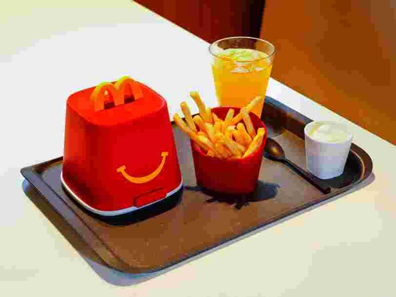 McDonald's teste de la vaisselle réutilisable dans certains restaurants en France