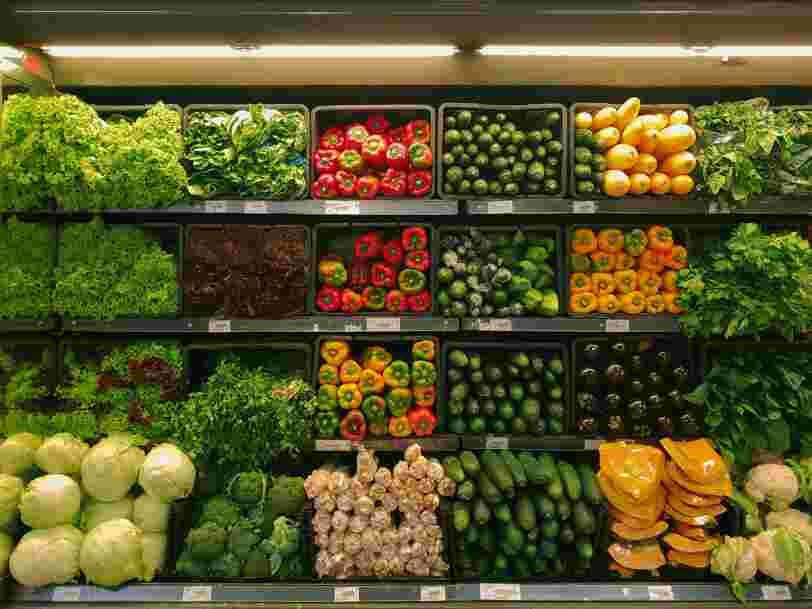 Les centaines de tonnes de légumes origine France... étaient en fait espagnoles