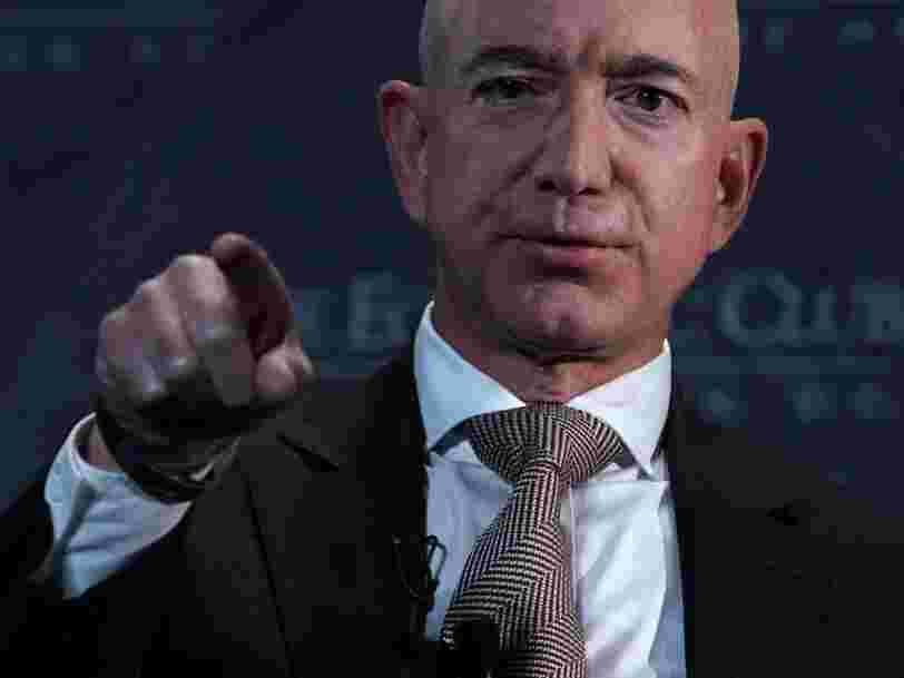 Jeff Bezos n'est plus le président du géant Amazon