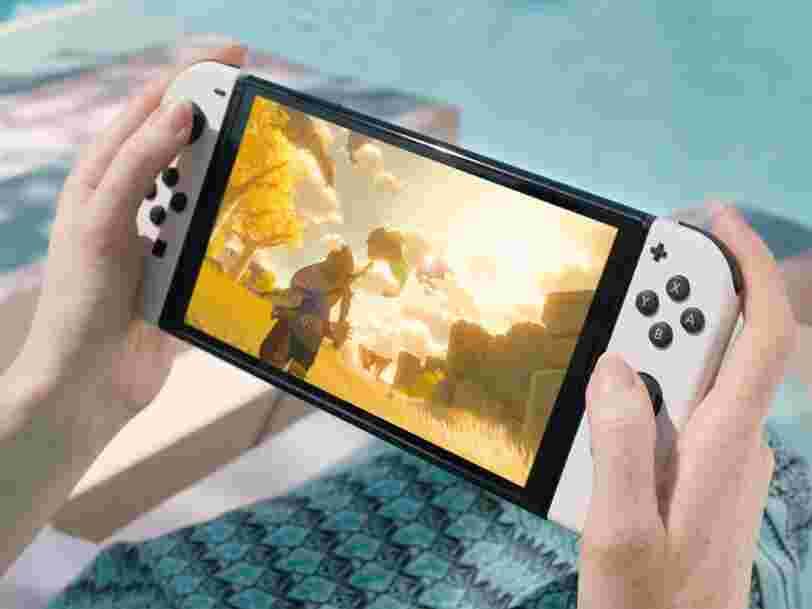 Nintendo dévoile enfin sa nouvelle Switch avec un meilleur écran, mais sans 4K