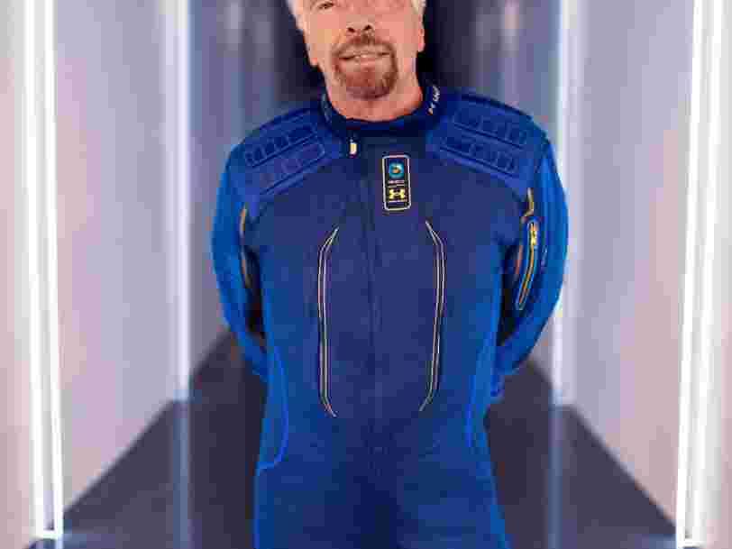 Richard Branson s'apprête à s'envoler dans l'espace, quelques jours avant Jeff Bezos