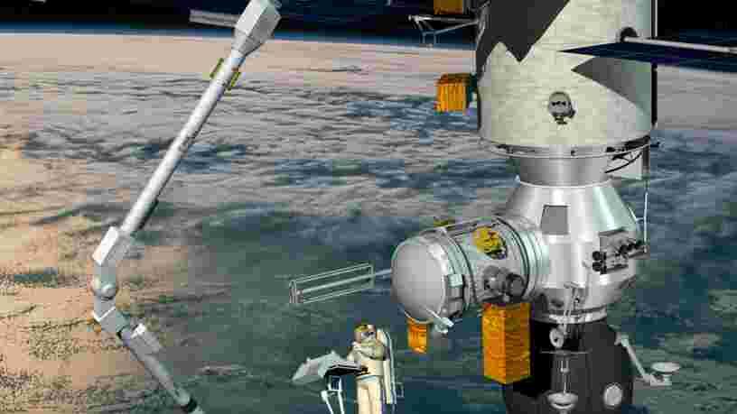 Un bras robotisé européen va être lancé vers la Station spatiale internationale