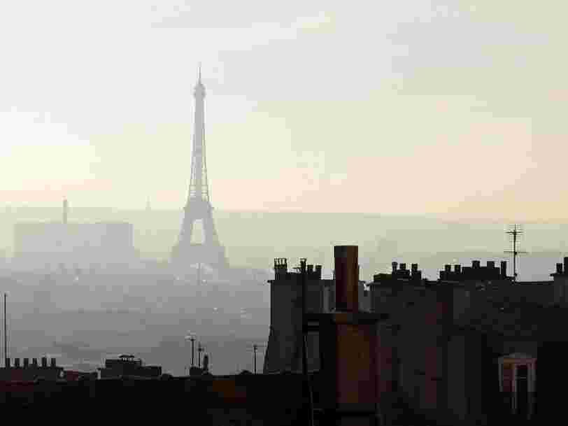 Les 10 villes les plus polluées d'Europe