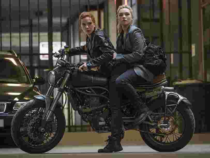 'Black Widow' signe un démarrage canon au box-office et sur Disney+