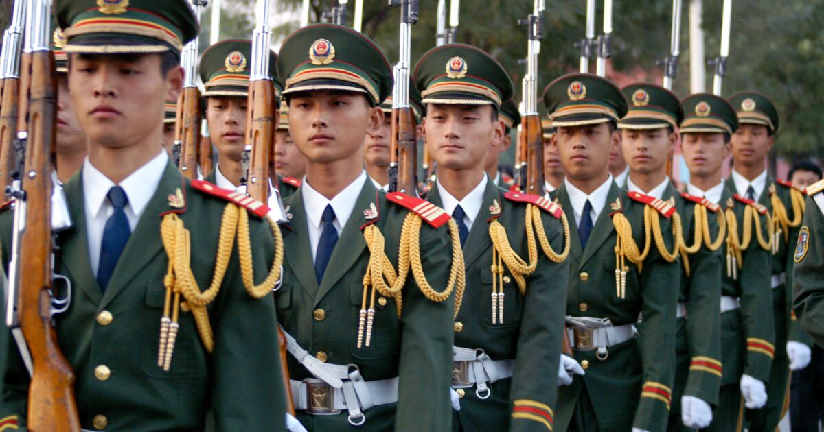 Voici le poids des forces chinoises face à l'armée américaine