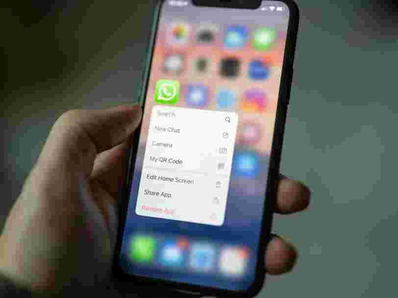 Whatsapp lance un test pour contourner les pannes de batterie des smartphones
