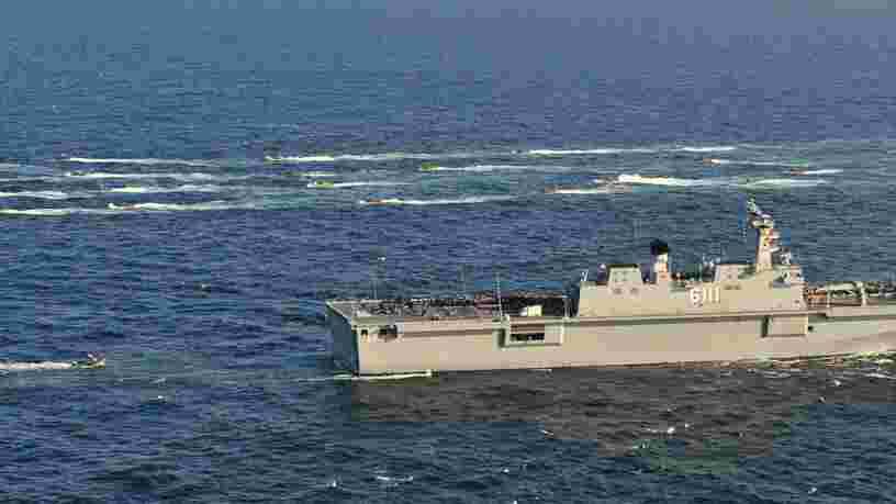 Comment une guerre dans la péninsule coréenne pourrait virer en un affrontement naval