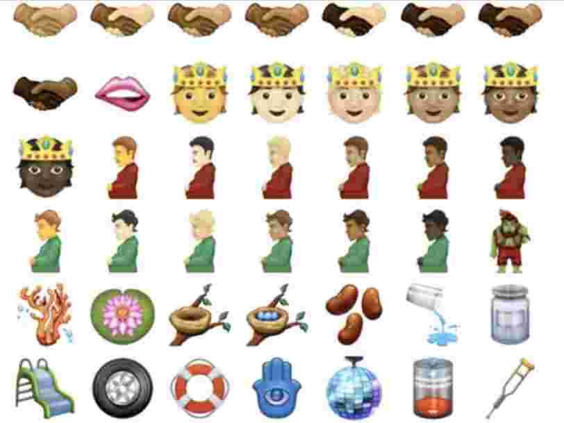 Voici les 102 nouveaux emojis qui pourraient arriver sur vos téléphones cette année