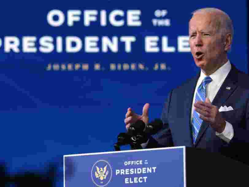 """Joe Biden assure """"ne pas être en guerre contre Facebook"""""""