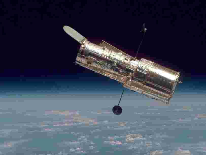 Des galaxies en collision photographiées par le télescope Hubble