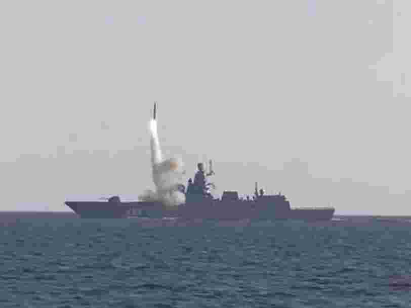 La Russie a testé son nouveau missile hypersonique, l'une de ses armes 'invincibles'