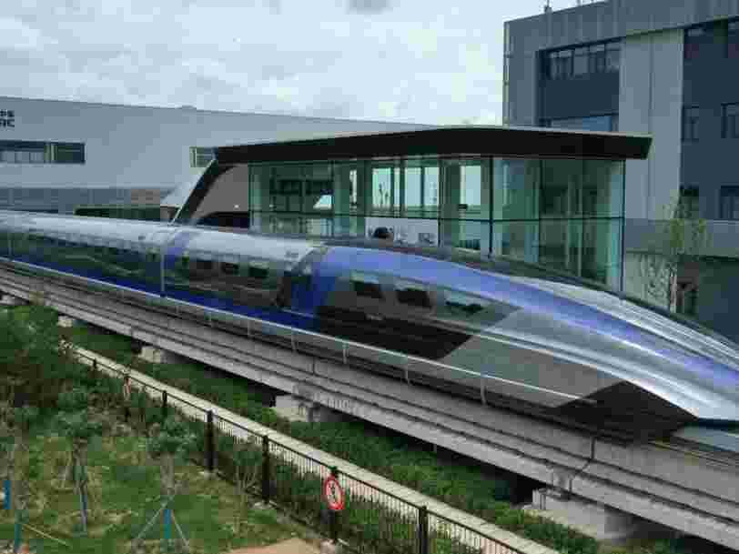 La Chine inaugure le train le plus rapide au monde, qui peut atteindre une vitesse de 600 km/h