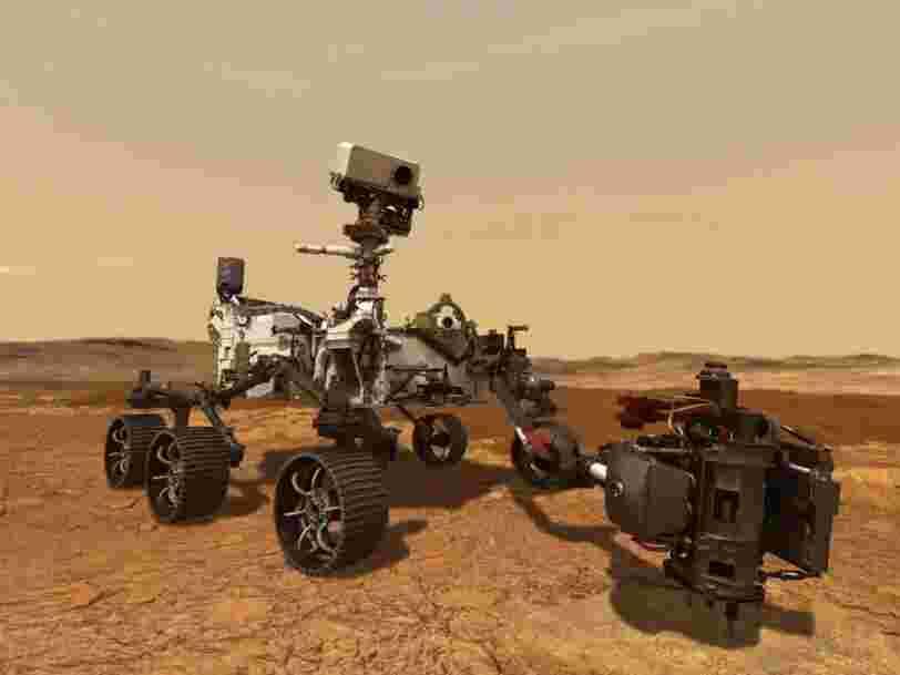 Le rover Perseverance va collecter ses premiers échantillons de roche martienne