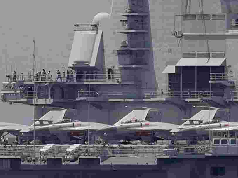 Le nouveau porte-avions chinois s'assemble rapidement et pourrait être lancé d'ici la fin de l'année