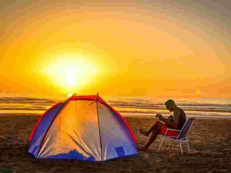 Vacances au camping : les 10 destinations les plus recherchées sur le littoral français