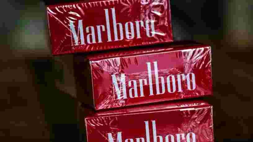 Philipp Morris International cessera de vendre des Marlboro au Royaume-Uni d'ici 10 ans