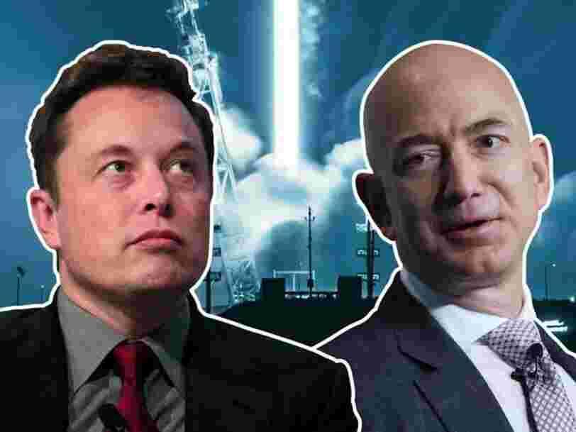 Voici les 6 plus gros obstacles de Jeff Bezos et Elon Musk pour coloniser l'espace